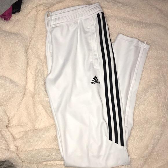 0376926792 Women's White adidas joggers